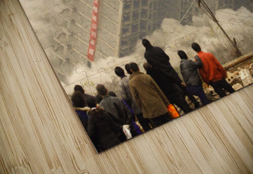 Urban Loneliness - The Crumbling Society jigsaw puzzle
