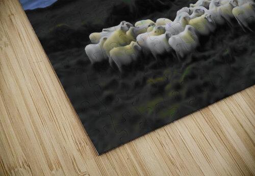 Sheep grazing jigsaw puzzle
