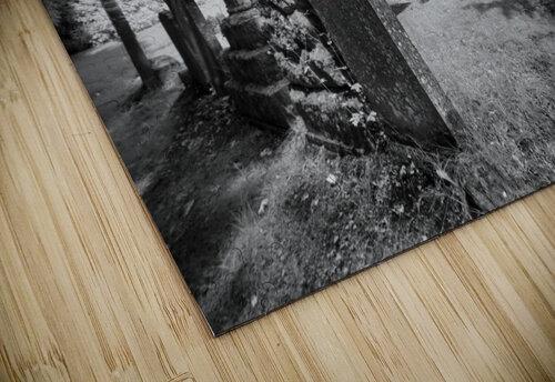 Infrared Scotland graveyard jigsaw puzzle