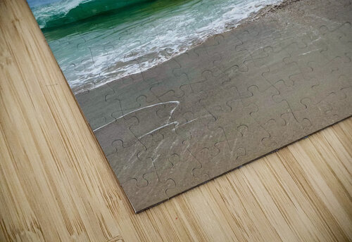 Crashing Waves - Malibu CA jigsaw puzzle