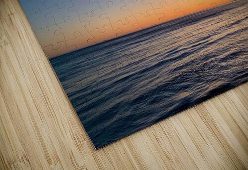 Sunset Moon - Malibu CA jigsaw puzzle