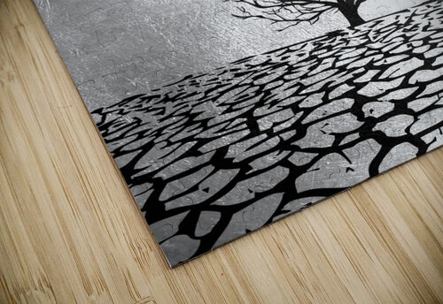 Tobit Parched Land Motivational Wall Art jigsaw puzzle