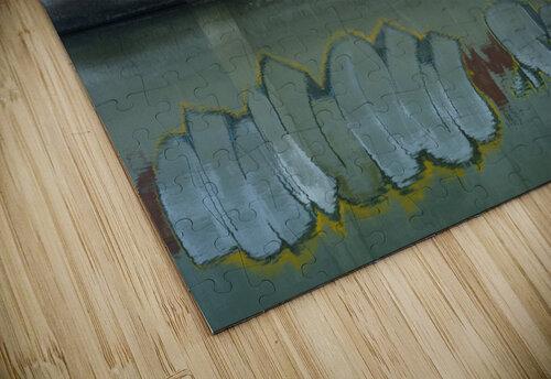 Reflet sous un pont - Reflection under a bridge jigsaw puzzle