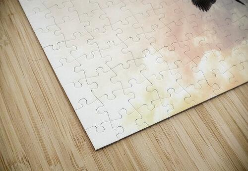 Heron Sunrise jigsaw puzzle
