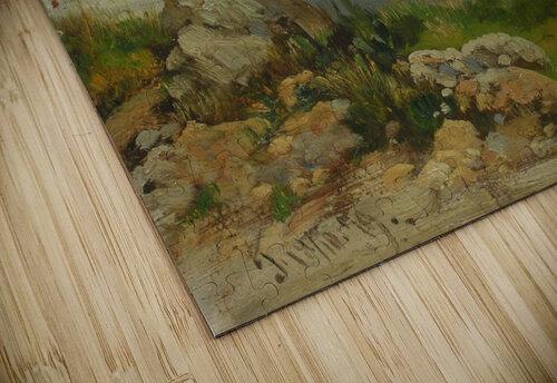 Landscape in Taormina, Sicily jigsaw puzzle