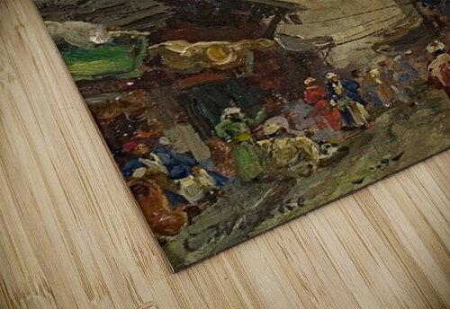 Oriental street scene jigsaw puzzle