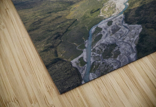 Aerial View of the Brooks Range in summer, ANWR, Alaska jigsaw puzzle