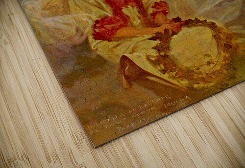 Madonna of the Lilies jigsaw puzzle