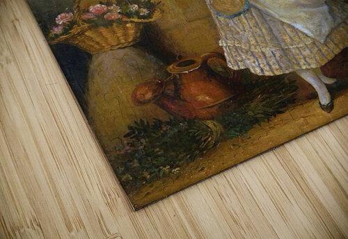 A young florist puzzle