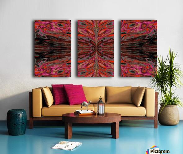 Queen of the Butterflies 55 Split Canvas print