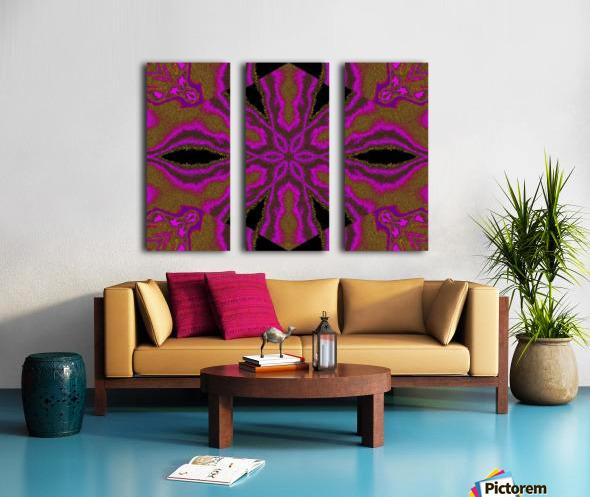 A Flower 3 Split Canvas print
