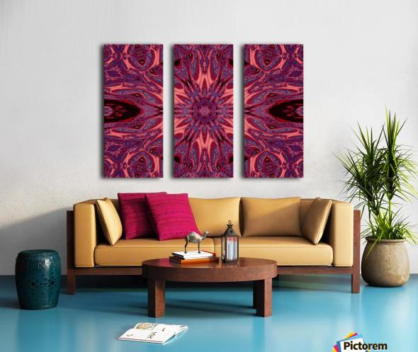Metamorphosis Rose 2 Split Canvas print