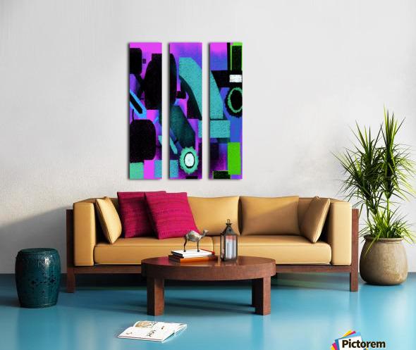 Shapes Split Canvas print