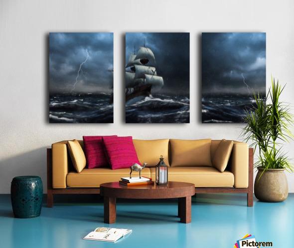 Stormy Seas by Jordan Blackstone Split Canvas print