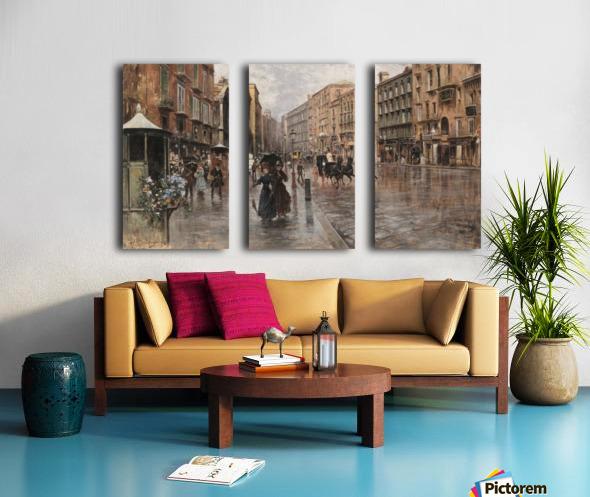 Napoli, Via Toledo Toile Multi-Panneaux