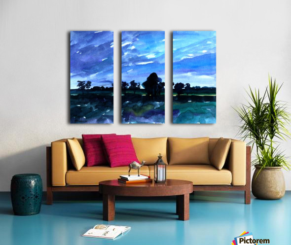 morning landscape 2 Split Canvas print