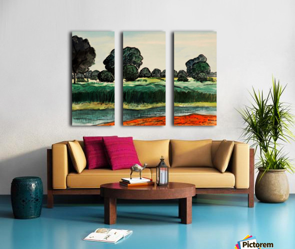 Landscape 6 Split Canvas print