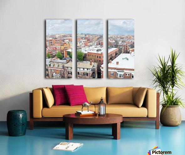 City Roof Tops  Split Canvas print