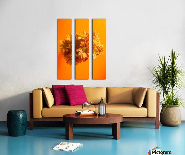 Orange scent Split Canvas print