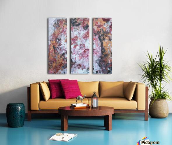 Defeat Split Canvas print