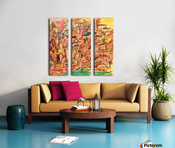 Things you didnt know about Laura Split Canvas print