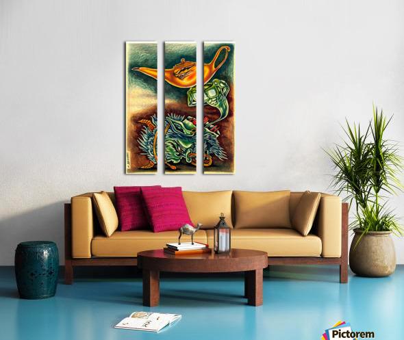 genius Split Canvas print