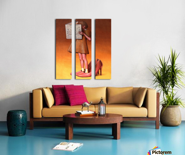 Manual Split Canvas print