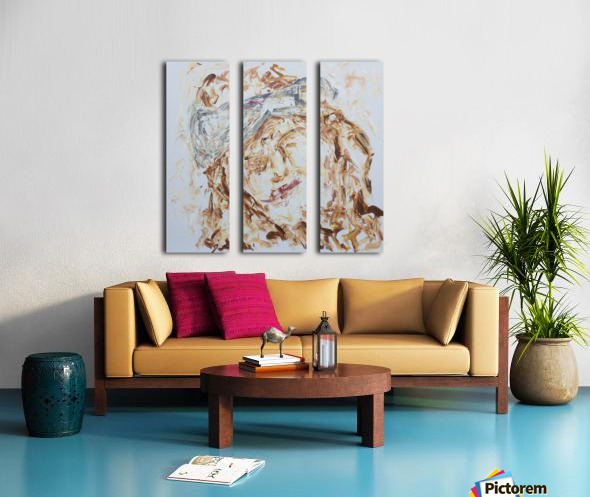 Samarah Split Canvas print