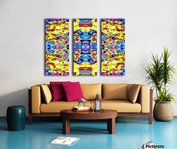blurose Split Canvas print