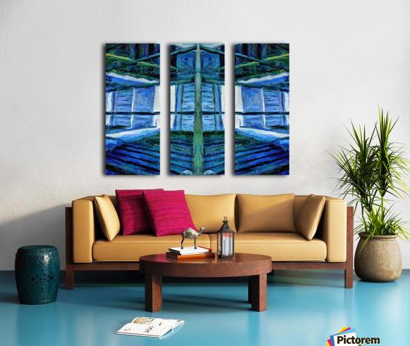 kahouse Split Canvas print