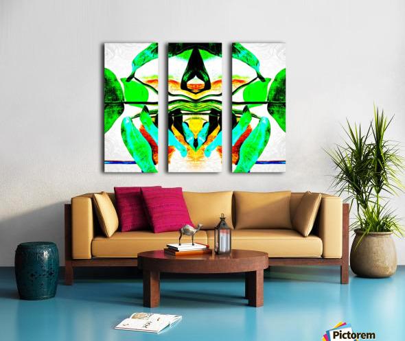 leplant Split Canvas print