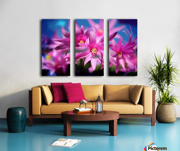 PinkShadows Split Canvas print