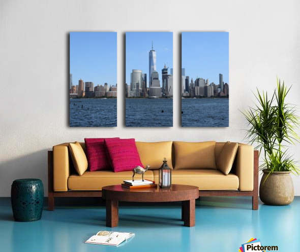 MANHATTAN, NEW YORK Split Canvas print