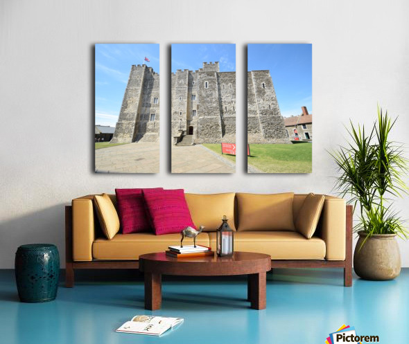 DOVER CASTLE, UK Split Canvas print