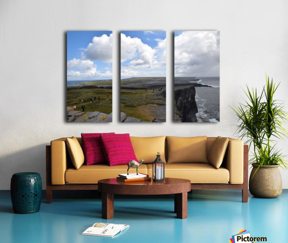 INIS MOR, THE ARAN ISLANDS Split Canvas print