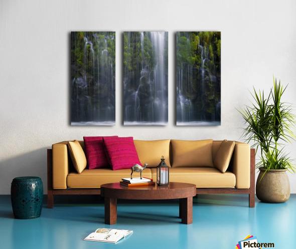 Magical retreat Split Canvas print