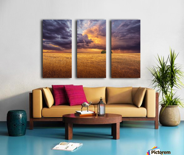 Alone Split Canvas print