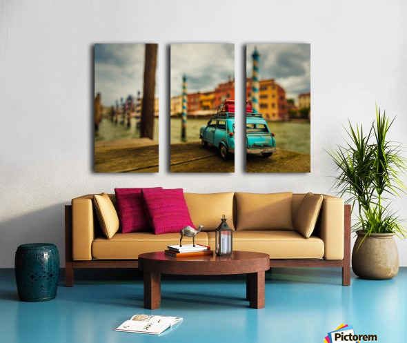 Venice Stopped Split Canvas print