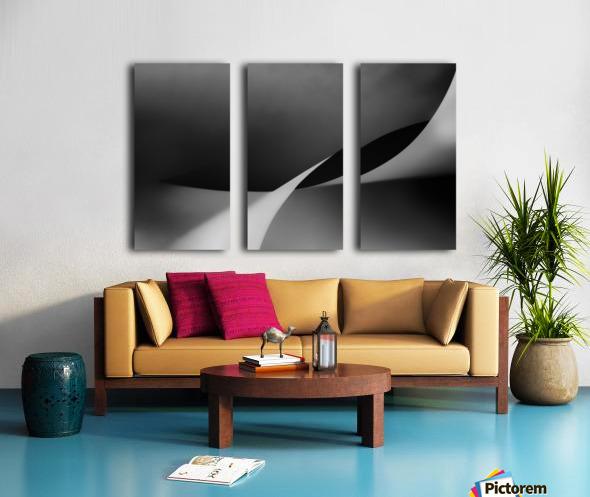 mit Schwung Split Canvas print