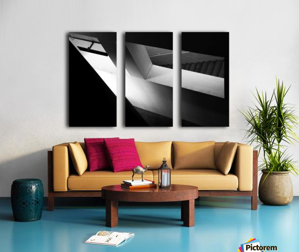 Light and shadow play Split Canvas print