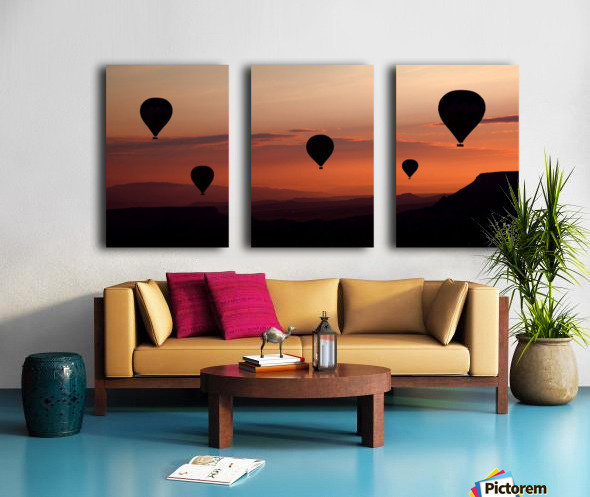 balloons Split Canvas print