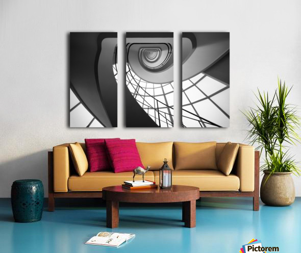 BELL I Split Canvas print