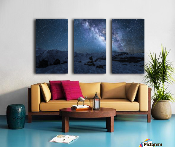 Always Split Canvas print