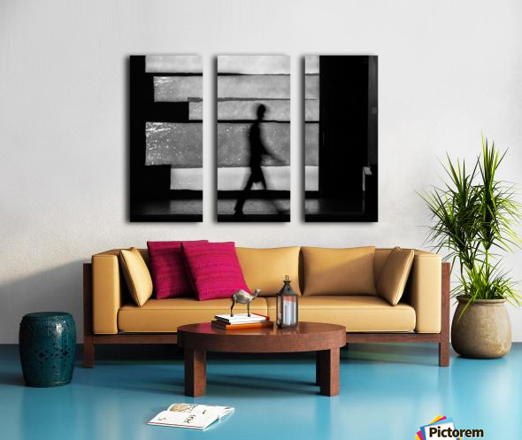in squares Split Canvas print