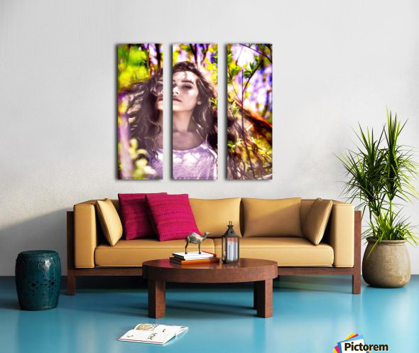 BeautifulLadyPicArt Split Canvas print