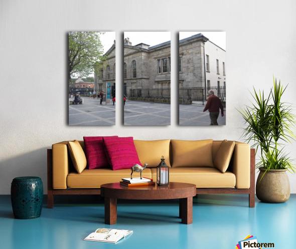KILMAINHAM JAIL, DUBLIN Split Canvas print