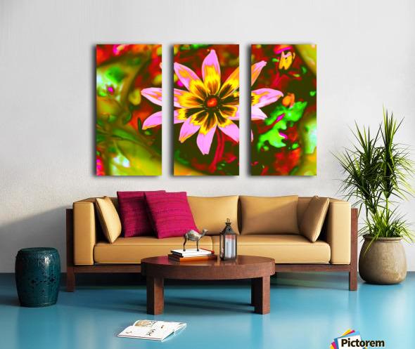 flowerPowerWILD Split Canvas print