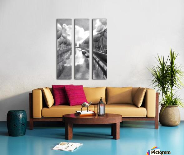 The return of the dutch elephants (@ Gouda) - 12-07-17  Split Canvas print