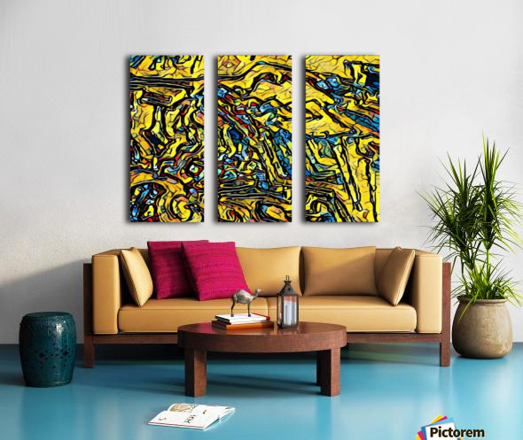 afs Split Canvas print