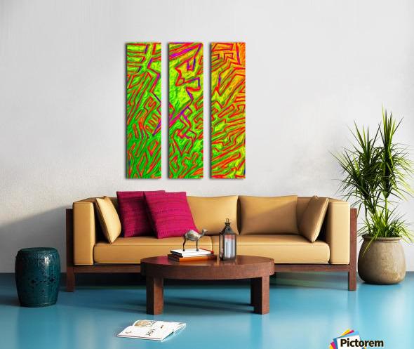 fern Split Canvas print